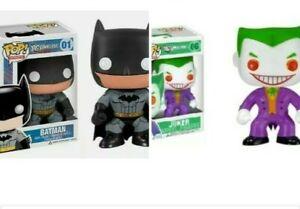 Funko POP Batman 01 PX Exclusive Joker 06 Vinyl Figure DC Universe NEW Set