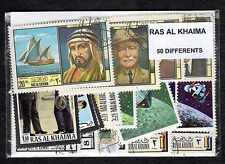 Crew Al-Khaima 50 Stamps Different