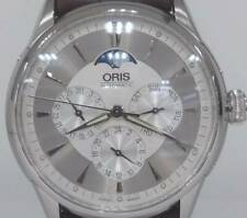 [OH] Oris Artelier Complication 7592 Moonphase Automatic Mens Watch Box & Papers