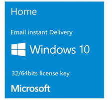 Windows 10 Home  32/64Bit Activation license Product Key Code✔️