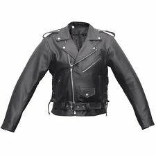 Men Brando Jacket made with Real Leather Motorbike Style Brando Jacket