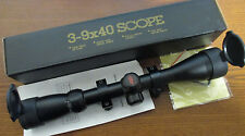 NEW PSE TAC ELITE CROSSBOW SCOPE 3-9x40 fits Horton TenPoint Excalibur Barnett