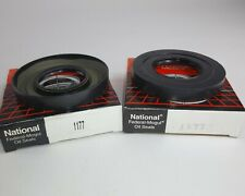 (2) NEW GENUINE NATIONAL 1177 Differential Seal for Transaxle vp SET OF 2 (J7)