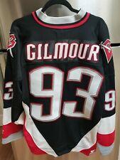 VINTAGE 2000 Buffalo Sabres NHL Hockey Jersey Doug Gilmour STARTER Goat Head L
