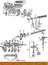 Dodge CHRYSLER OEM 86-91 W250-Engine Oil Pan Gasket 3549388