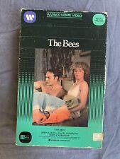 THE BEES John Saxon WARNER book box 1978 adult horror CLASSIC beta