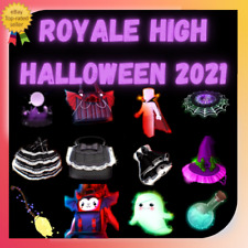 Royale High - Halloween 2021 (New Items) RESTOCKED  Fast Delivery l Cheap Price.