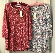 Karen Neuburger PETITE Nightgown Sleepshirt L//S Floral Cotton Blend PS,PM,PXL