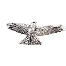 Red kite Bird Finely Handcrafted in Solid Pewter In UK Lapel Pin Badge