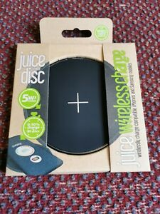 Juice Tile - Wireless Charging Pad, iPhone, Samsung, NFC - Full Charge ~4hrs