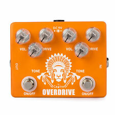 Caline CP-70 Crushing Overdrive Boost Orange Electric Guitar Effect Pedal