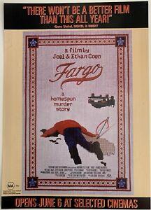 FARGO - Original Aust. Lobby Advance Movie Poster