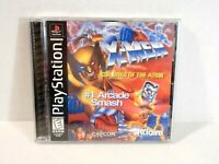 X-Men: Children of the Atom - PlayStation 1 PS2 - Complete Tested Fighting Game