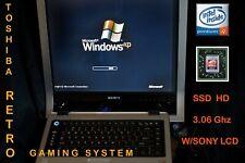 Windows 95 98 Xp Dos Custom Retro Gaming w/Ssd P4 & Correct monitor system