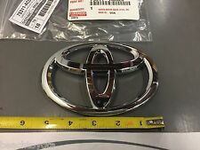 Toyota 2005-2007 AVALON FRONT GRILLE Emblem Chrome - OEM NEW! 75311-AC020