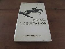 New listing Manual D Riding Federation Of SPORTS Equestrian Charles Lavauzelle 1968