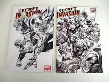 *SECRET INVASION 1:75 BLACK & WHITE VARIANT LOT #6-8
