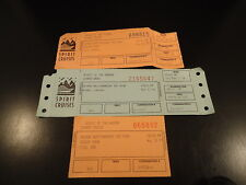 SPIRIT CRUISES 2 Unused Tickets & 1 Stub 1996 '97 '98  NEW YORK CITY  prom party
