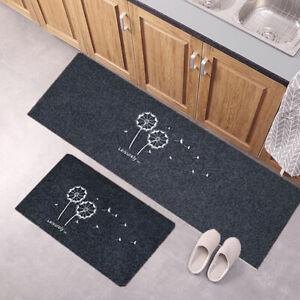 para interior y exterior alfombras de ba/ño de bamb/ú alfombra por metro Parpyon/® Alfombra de cocina antideslizante multiusos acabado decapado Shabby Chic lavable entrada resistente