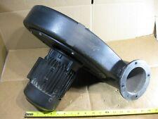 Dietz Motoren Dg 30 Blower Fan 3 Ph 220 600v 28603440 Rpm 064hp Dust Collector