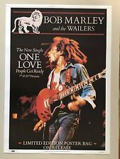 BOB MARLEY ANDTHE WAILERS, RARE AUTHENTIC 1992 POSTER