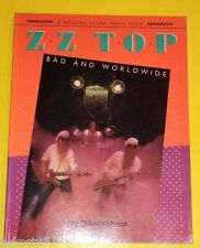 Z. Z. Top Rock Group 1985 Bad & Worldwide First ED Great Pictures! Nice See!