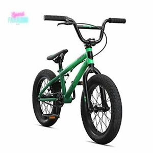 "16"" Legion L16 Freestyle Sidewalk BMX Bike Hi-Ten Steel Frame Kids Bicycle Green"