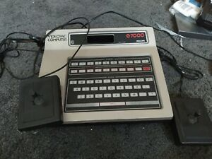 Philips G7000 Videopac Computer With Laser War Game