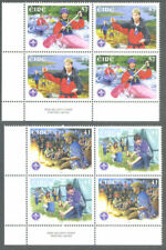Ireland-Scouts & Scouting mnh sets (2)-2002