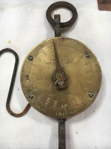 antique Salters Spring Balance Scales Class 3