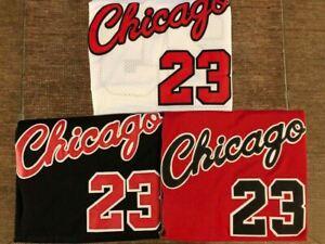 Men's/Youth #23 ROOKIE Michael Jordan 1984 Chicago Bulls Red/White/Black Jersey