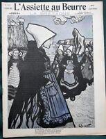 L'Assiette au Beurre #131 - La Bretagne Britanny France 1904 French Satire Art