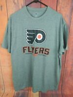 NHL Philadelphia Flyers Mens T Shirt Gray Size 2XL XXL NHL Hockey New