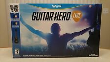 Guitar Hero Live Bundle for Nintendo Wii U  w/ Video Game & Controller! NEW!