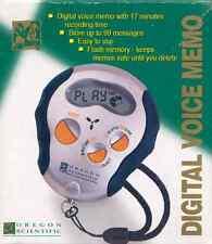 Registratore Digitale Dittafono DIGITAL VOICE MEMO OREGON SCIENTIFIC VR 338