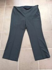 Polyester Not Relevant Plus Size Tailored Trousers for Women