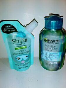 Garnier & Simple Micellar Cleansing Water Waterproof Makeup Remover