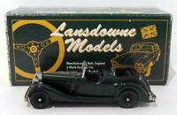 Lansdowne Models 1/43 Scale LDM27 - 1937 Jensen Dual Cowl Phaeton - Green