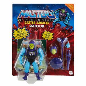Mattel Masters of the Universe Origins Deluxe Actionfigur Battle Armor Skeletor