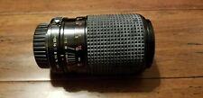 Pentax K/A Mount 70-210mm f4-5.6 Macro Zoom Lens by QTII