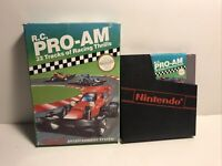 RC Pro AM (Nintendo NES System, 1988) in box No manual Tested Works VG