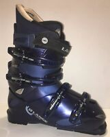 Lange 50 Ven-S Softech Womens Downhill Snow Ski Boots Mondo 25.0 US 8 Blue/Black
