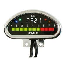 Multifunktionsinstrument, Tacho, Drehzahlmesser Chrom, für Harley-Davidson