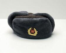 Vintage Ushanka  Military hat, winter hats Russian Army Gray