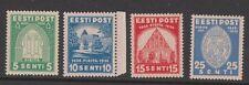 ESTONIA (Scott # 134-137) Complete Set MINT OG VLH VF/XF