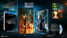 NEW PS4 Final Fantasy VII 7 FF7 Remake (HK Deluxe Limited Steelbook, Chinese 中