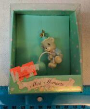 Vintage Enesco Precious Moments Mini Bear Ornament 1994 In Box