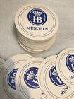50 COUNT. HOFBRAU MUNCHEN BEER COASTERS. GERMANY