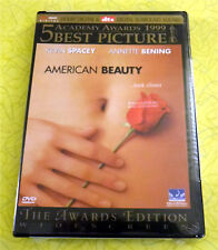 American Beauty ~ New Dvd Movie ~ 1999 Thora Birch Mena Suvari Kevin Spacey