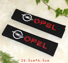 2pc Car Seat Belt Cover Shoulder Cushion Pad for All Opel - Astra Corsa Insignia